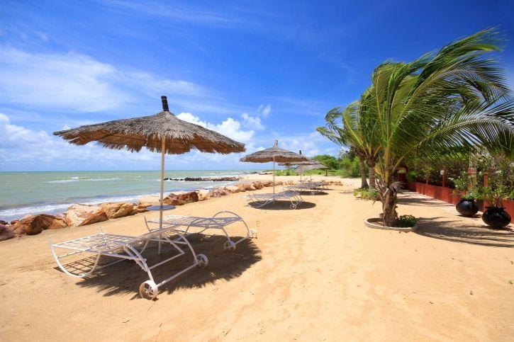 Strandurlaub im Senegal