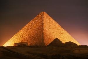 Cheops-Pyramide - Ägypten