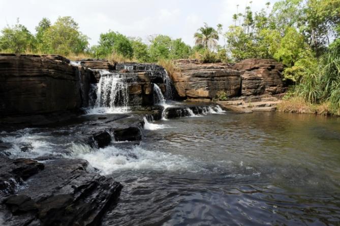 Burkina Faso - Reisen - Wasserfall