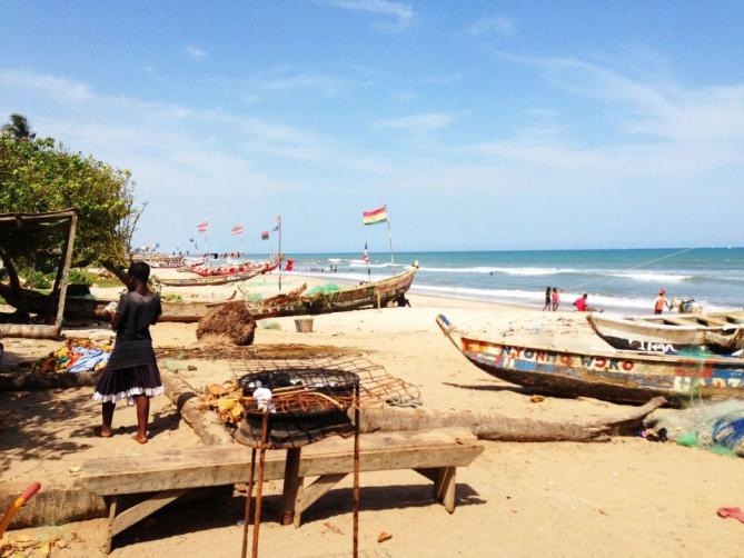 Ghana - Reisen - Strand