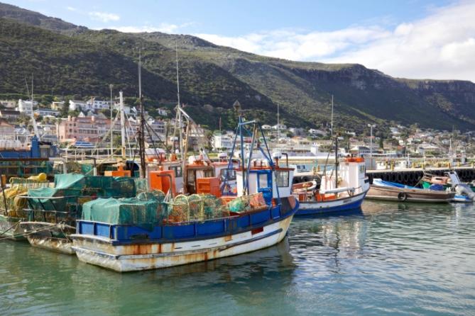 Südafrika - Reisen - Hafen