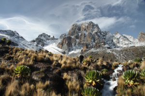 Kenia - Reisen - Bergbesteigung