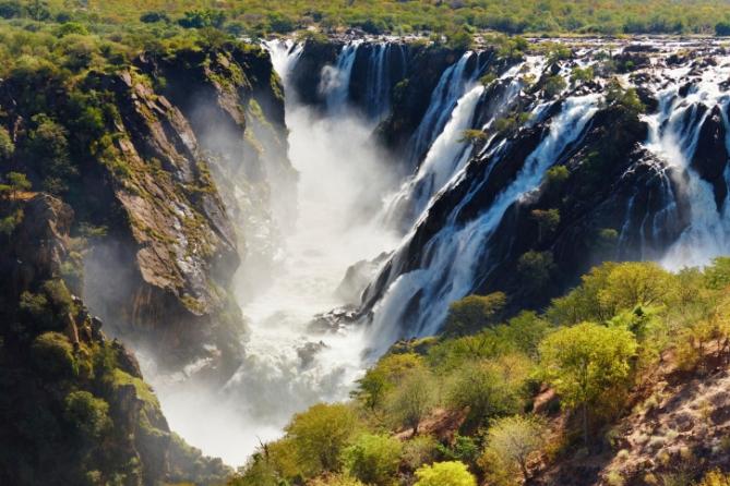 Namibia - Reisen - Ruacana Wasserfälle
