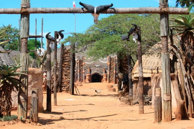 Südafrika - Reisen - Zulu-Dorf