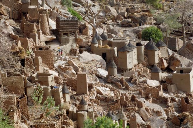Niger - Reisen - Dogon village