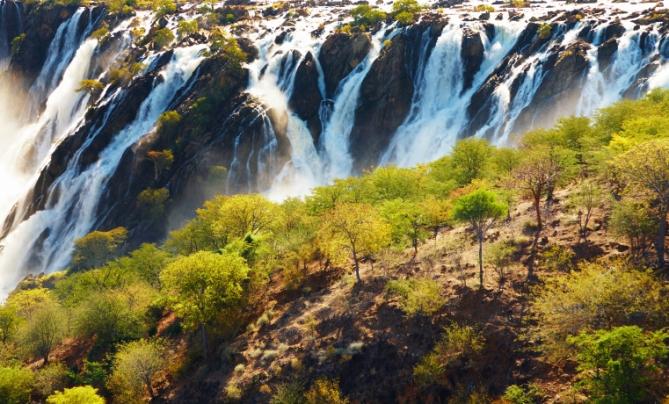 Namibia - Reisen - Ruacana Falls
