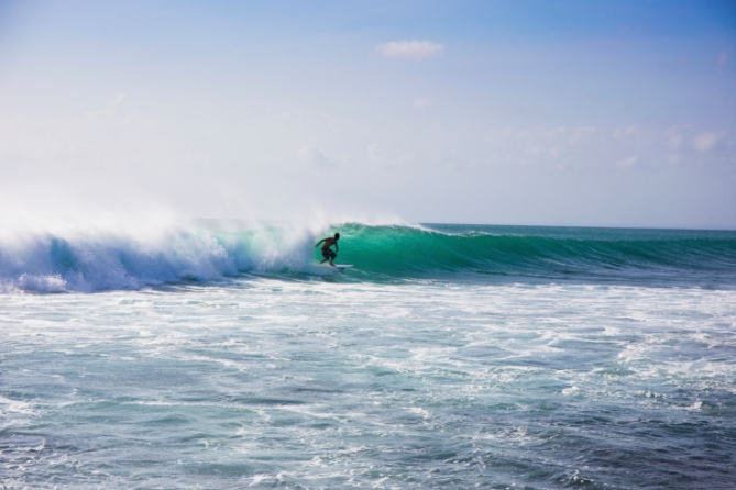 Südafrika - Wassersport - Windsurfen