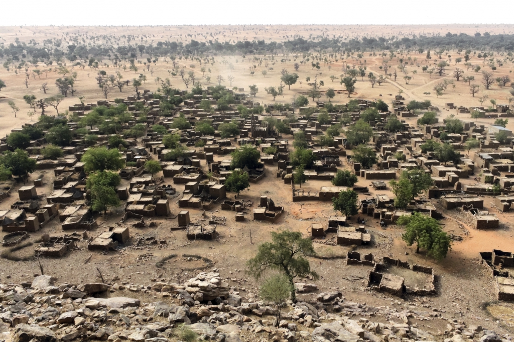 Mali - Reisen - Dogon Dorf