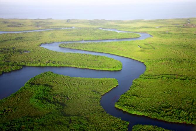 Gambia - Reisen - Fluss