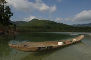 Sierra Leone - Reisen - Kanu