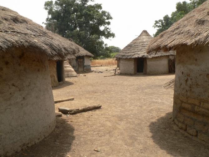 Benin - Reisen - Häuser
