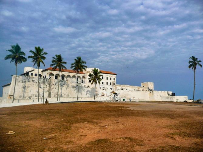 Ghana - Reisen - Sklavenfort