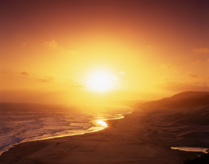 Südafrika - Reisen - Sonnenuntergang
