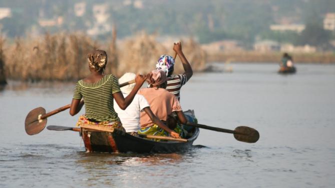 Benin - Reisen - Ganvie