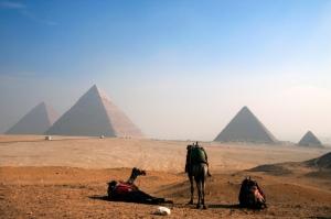 Pyramiden von Gizeh - Ägypten