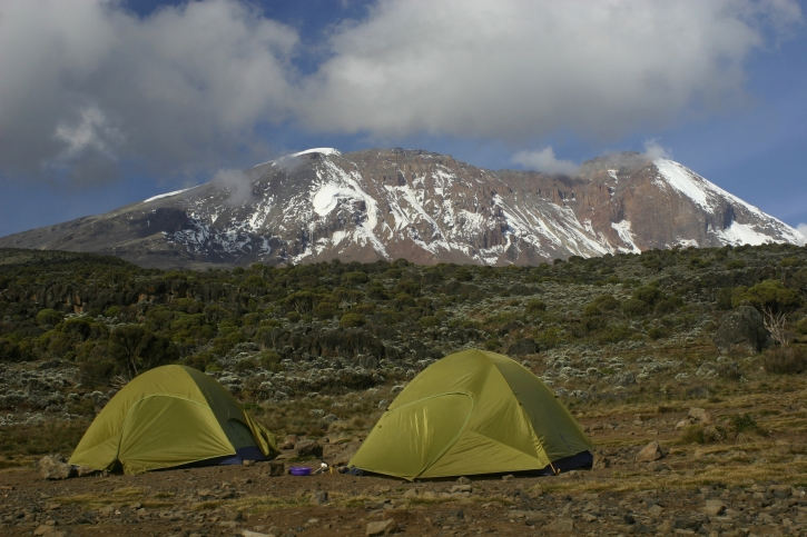 Camp - Machame Route, Kilimanjaro