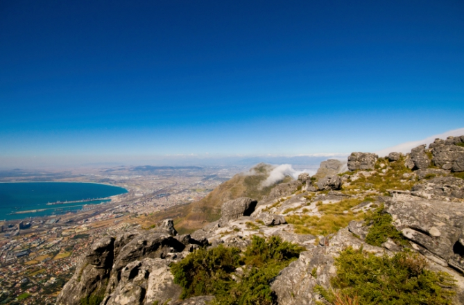 Table Mountain Nationalpark, Wandern in Südafrika