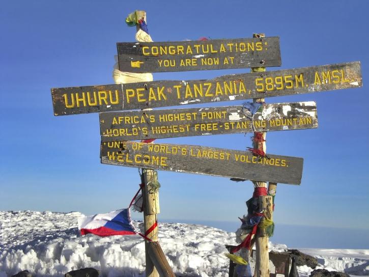Uhuru Peak - Kilimandscharo