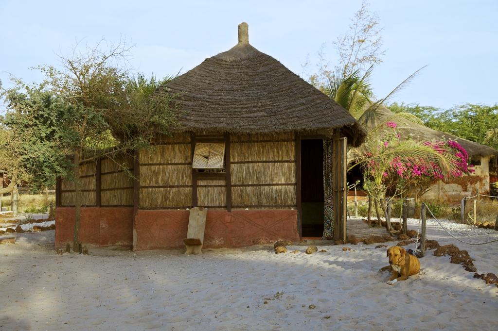 Hütte - Senegal - Reisen
