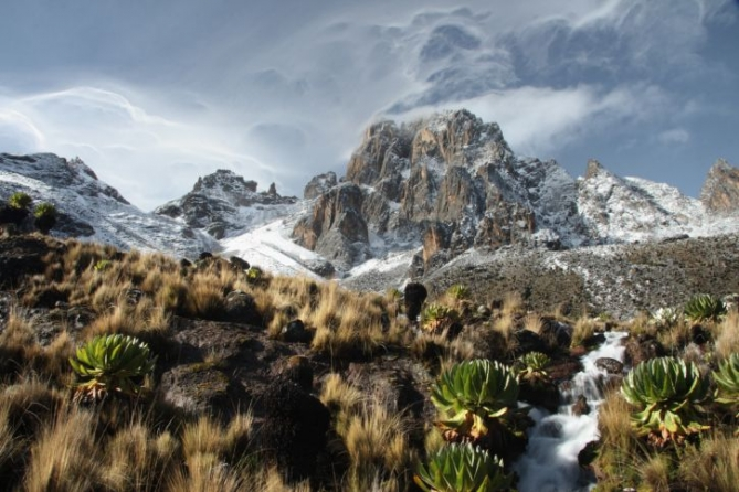 Mount Kenya Besteigung - Trekking