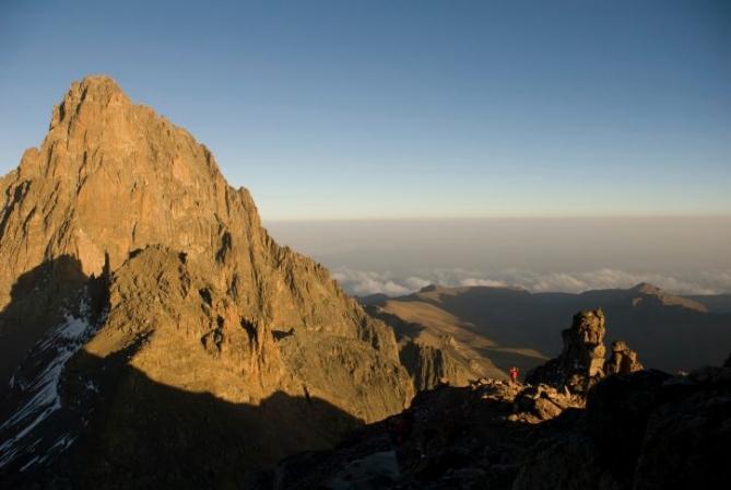 Ausblick - Mount Kenya Trekkingreise