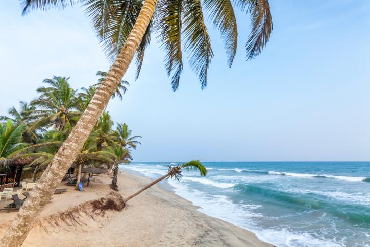 Traumstrand: Strandurlaub, Badeurlaub in Ghana