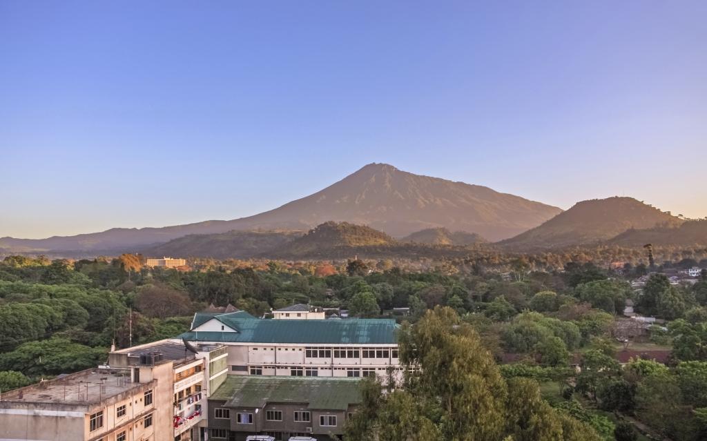 Arusha mit Touring Afrika