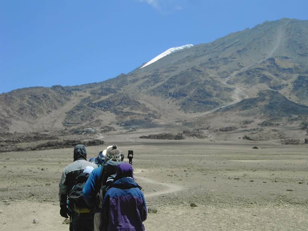 Tansania Kilimanjaro Besteigung