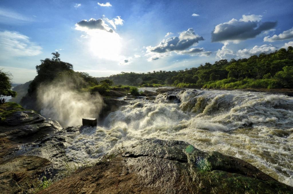 Wasserfall Uganda-Murchison Fall - Uganda Gruppenreise