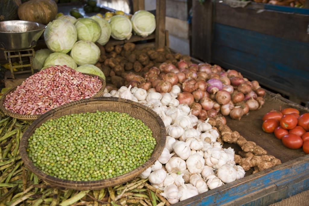Markt in Sansibar-mit Touring Afrika