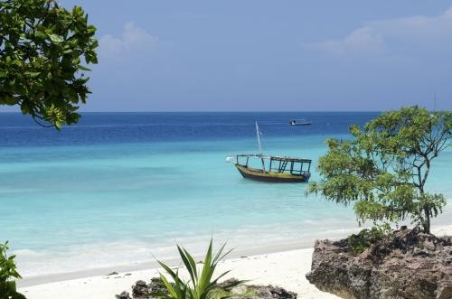 Strand Sansibar - Tansania Safri mit Badeurlaub auf Sansibar