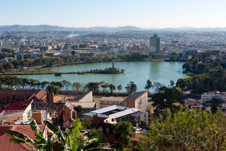 Ausblick auf Antananarivo - Madagaskar