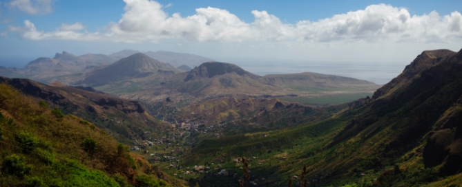 Landschaft Kap Verde - Wanderungen