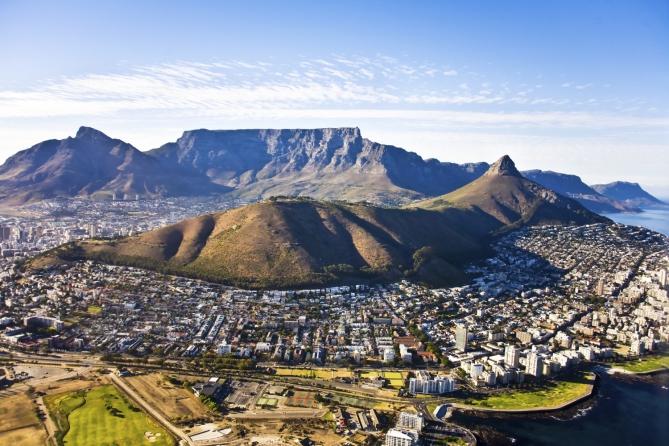 Blick auf Kapstadt: Designhauptstadt 2014