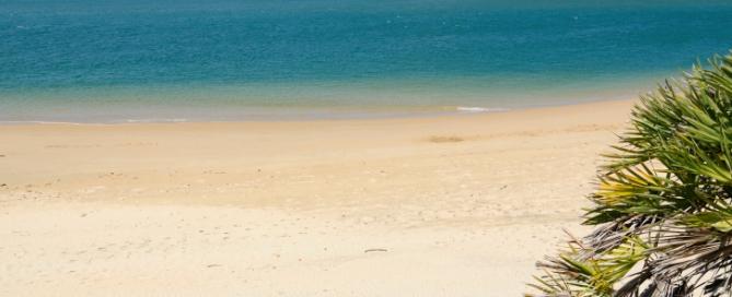 Lamu Island Strand - Kenia Badeurlaub