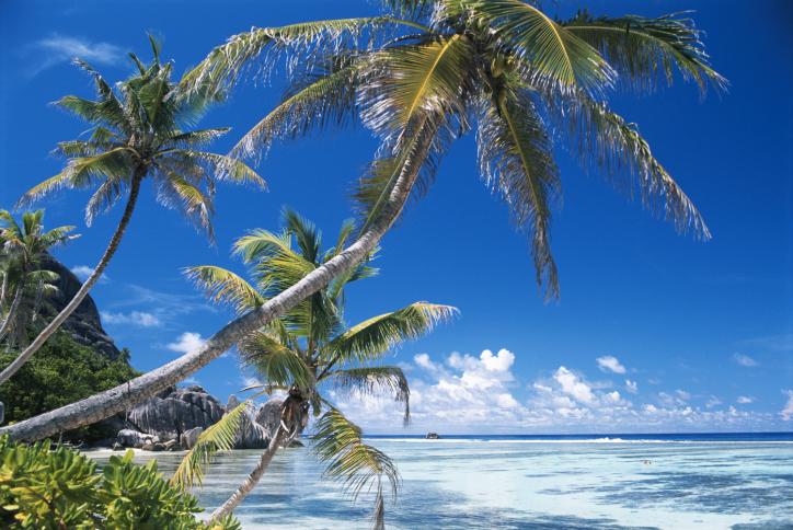 Seychellen Strand - Badeurlaub