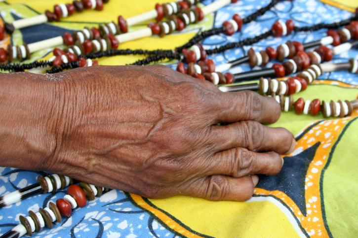 Kunst - Buschleute-Stamm der San