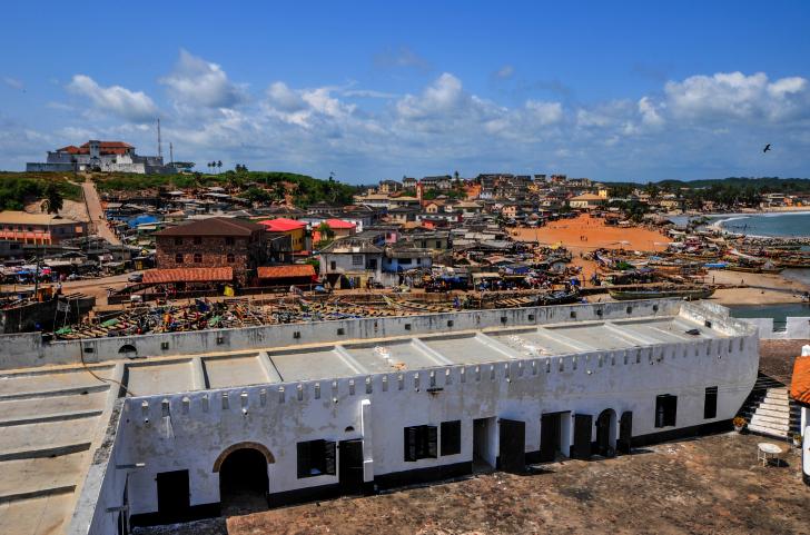 Sehenswürdigkeit in Elmina: Elmina Castle