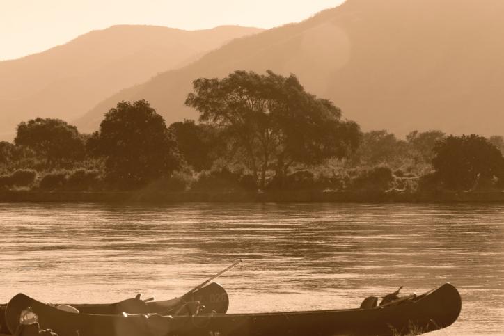 Kanus - Kanu Safari auf dem Sambesi