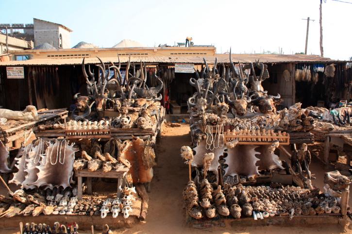 Fetischmarkt in Lome, Togo