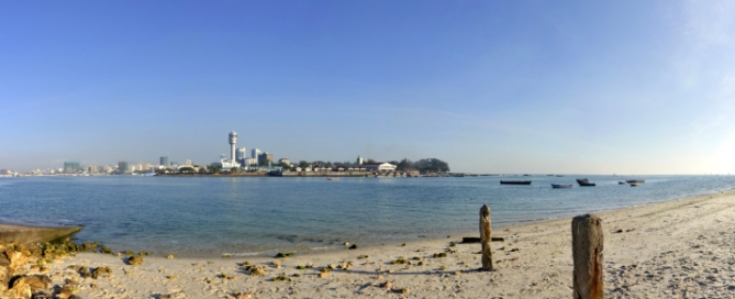 Dar-Es-Salaam Strand, Tansania