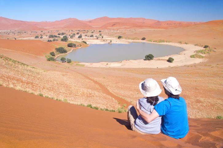 In Namibias Nationalparks lässt es sich aushalten