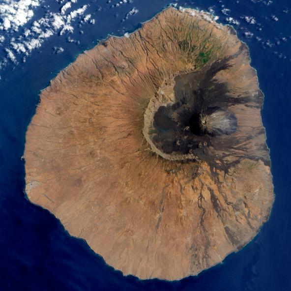 Kapvereden Vulkansuasbruch Fogo 2014