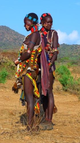 Hamer Frauen - Äthiopien Reisebericht