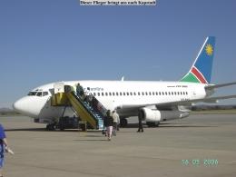 Flug - Windhoek - Kapstadt