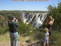 Namibia Rundreise - Ruacana Falls