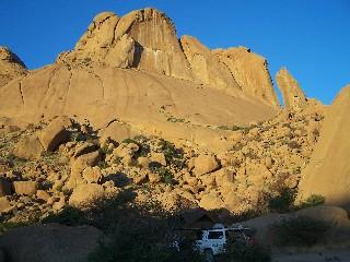 Namibia - Reisebericht - Spitzkoppe