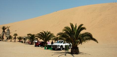Namibia - Reisen - Wüste