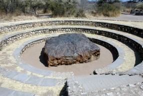 Namibia - Reisen - Meteorit