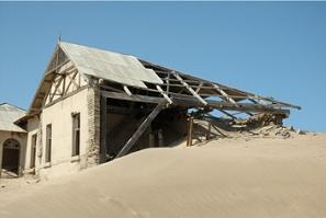 Namibia - Reisen - kolmanskop